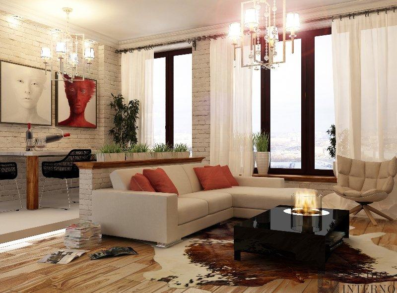 Дизайн квартиры 40 квадратов
