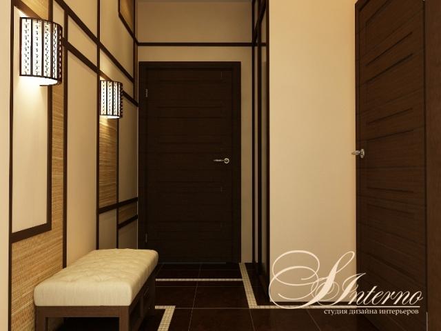 Дизайн двухкомнатной квартиры п-44 фото